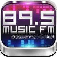 Logo de la radio 89.5 Music Fm