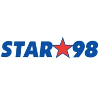 Logo of radio station WBZE Star 98.9 FM