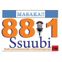 Logo of radio station 88.1 Ssuubi FM Masaka