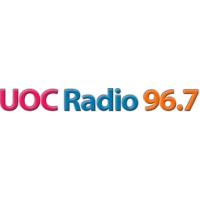 Logo of radio station UOC Radio