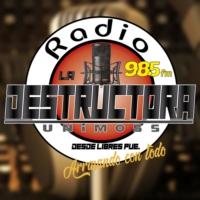 Logo of radio station La Destructora Unimoss