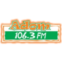 Logo of radio station Adom FM 106.3