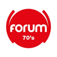 Logo of radio station FORUM 70's