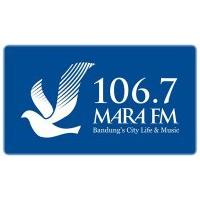 Logo de la radio Radio Mara 106.7 FM Bandung