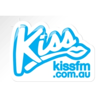 Logo of radio station Kiss FM (Australie)