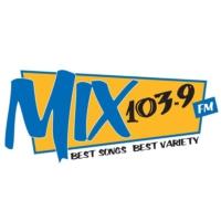 Logo of radio station CJAW-FM Mix 103.9