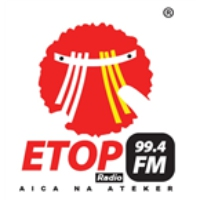 Logo of radio station Etop FM