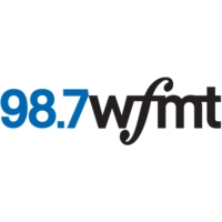 Logo of radio station WFMT 98.7