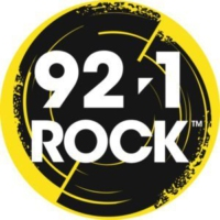 Logo of radio station CJQQ-FM 92.1 ROCK