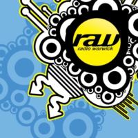Logo of radio station RaW Radio Warwick