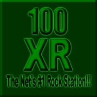 Logo de la radio 100XR - Rock