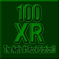 Logo of radio station 100XR - Rock