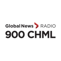 Logo of radio station AM900 CHML