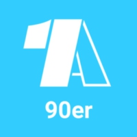 Logo of radio station - 1A 90er -