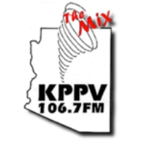 Logo of radio station KPPV The Mix