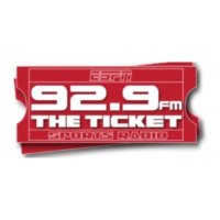Logo de la radio WEZQ 92.9 The Ticket