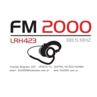 Logo of radio station FM 2000 LRH 423