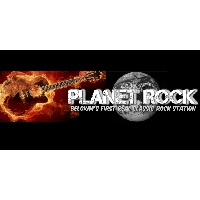 Logo of radio station Planet Rock Belgium