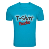 Logo of radio station T-shirt