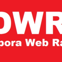 Logo of radio station diasporawebradio.com (DWR)