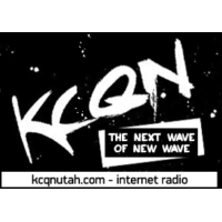 Logo of radio station KCQN Utah