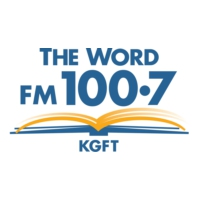 Logo of radio station KGFT FM 100.7