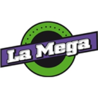 Logo of radio station La Mega Pereira