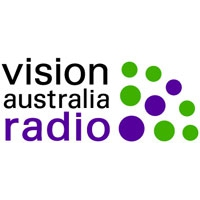 Logo of radio station Vision Australia