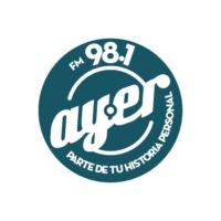 Logo of radio station Ayer FM 98.1
