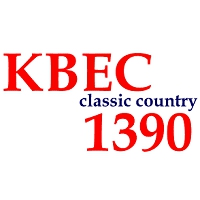 Logo of radio station KBEC 1390 AM