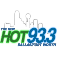Logo of radio station KLIF The New HOT 93.3