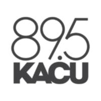 Logo of radio station KACU 89.7