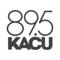 Logo of radio station KACU 89.7