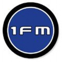 Logo of radio station 1FM