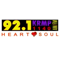 Logo of radio station KRMP 1140 AM