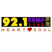 Logo of radio station KRMP 1140 AM