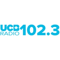 Logo of radio station CKGW-FM UCB Canada 102.3