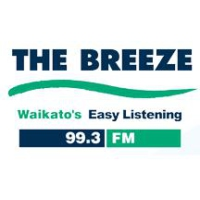 Logo of radio station The Breeze Waikato