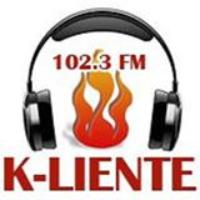 Logo of radio station Kaliente 102.3 FM  Maracaibo