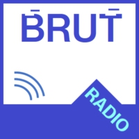 Logo of radio station Brut radio