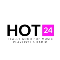Logo de la radio Hot 24