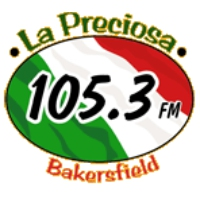 Logo of radio station KBFP La Preciosa 105.3
