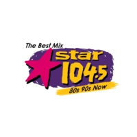 Logo of radio station KSRZ Star 104.5