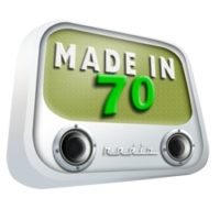 Logo of radio station Made in 70