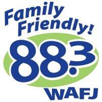 Logo of radio station WAFJ 88.3 FM