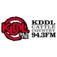 Logo of radio station KDDL Cattle Country