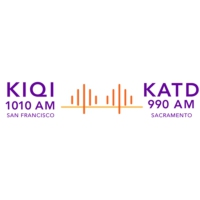 Logo of radio station KIQI 1010 AM