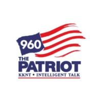 Logo of radio station KKNT 960 The Patriot