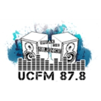 Logo of radio station UCFM 87.8 University of Canberra