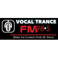 Logo of radio station FM 98.5 Vocal Trance